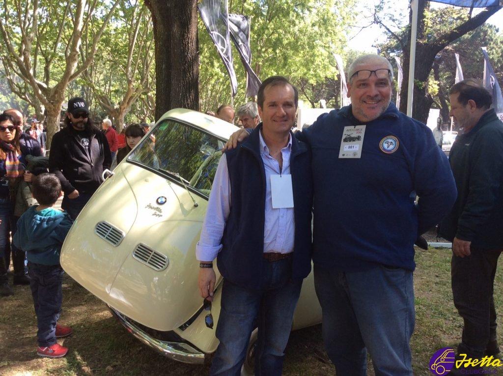 Fernando Otte y Ernesto Parodi