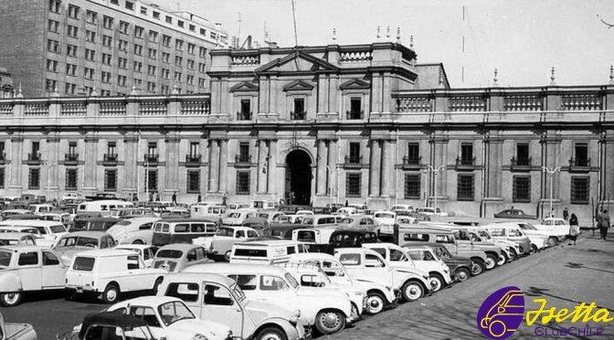 Palacio de La Moneda y Microautos