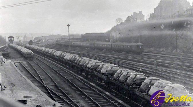 Isettas en la estación de Brighton