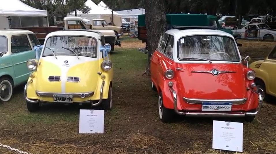 Comparativa entre Isetta 300 y bmw 600