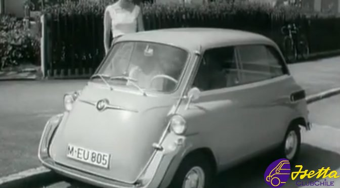 video promocional isetta y bmw 600